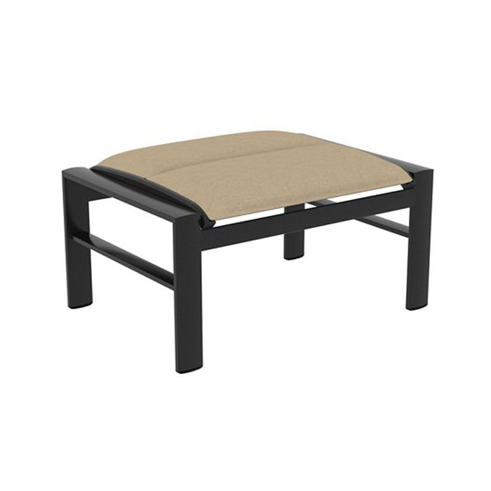 Padded Sling Ottoman Fishbecks Patio Furniture Store