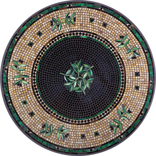 Knf Designs Black Olives Top