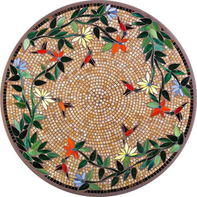 2015 Mosaic Table Tops | Fishbecks Patio Furniture Store Pasadena
