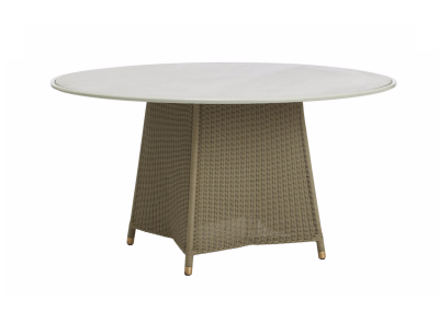 southampton-dining-table-aluminum-top-round