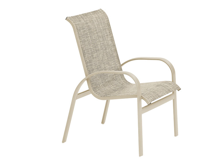 Stacking Arm Chair Fishbecks Patio Furniture Store Pasadena