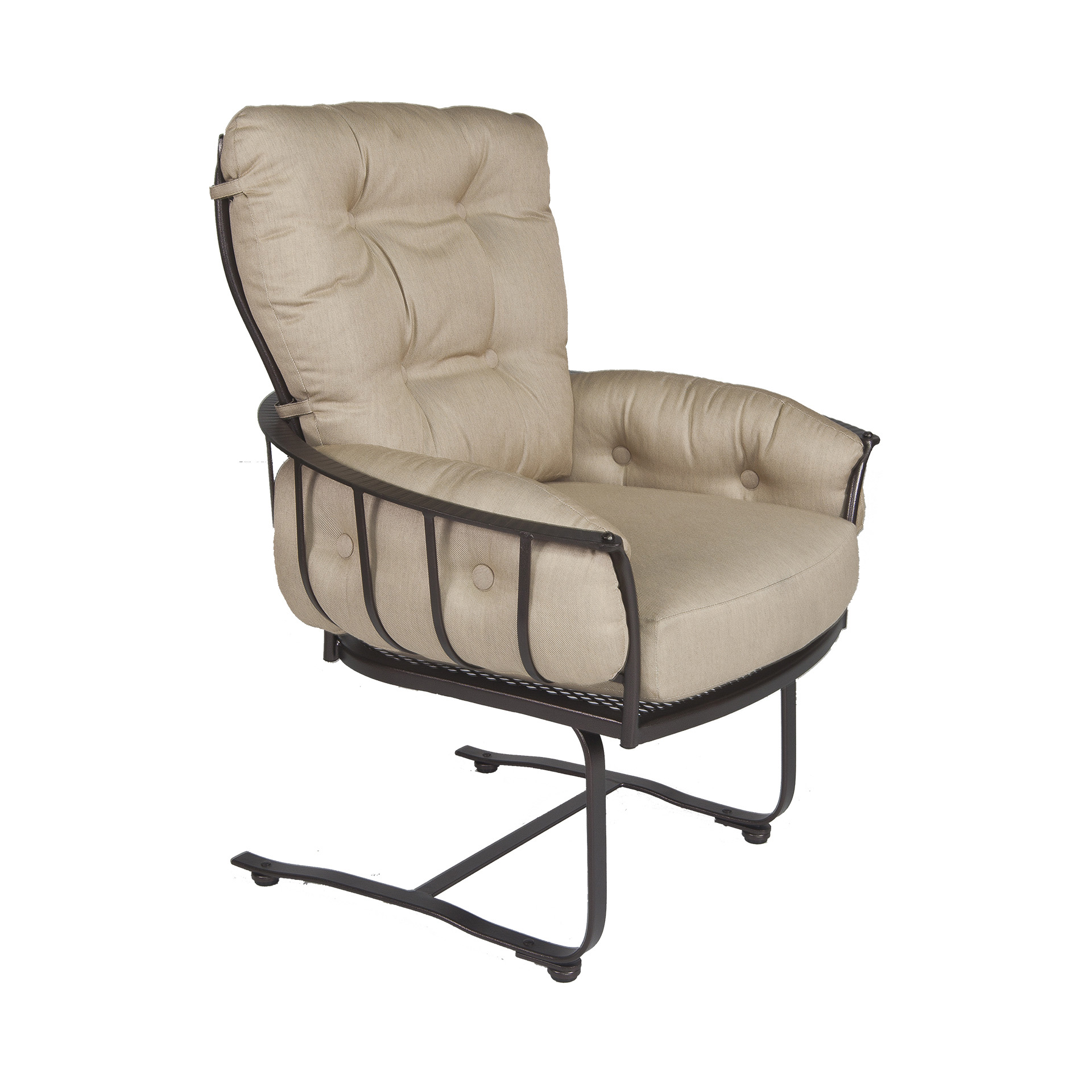spring base club dining arm chair fishbecks patio furniture store