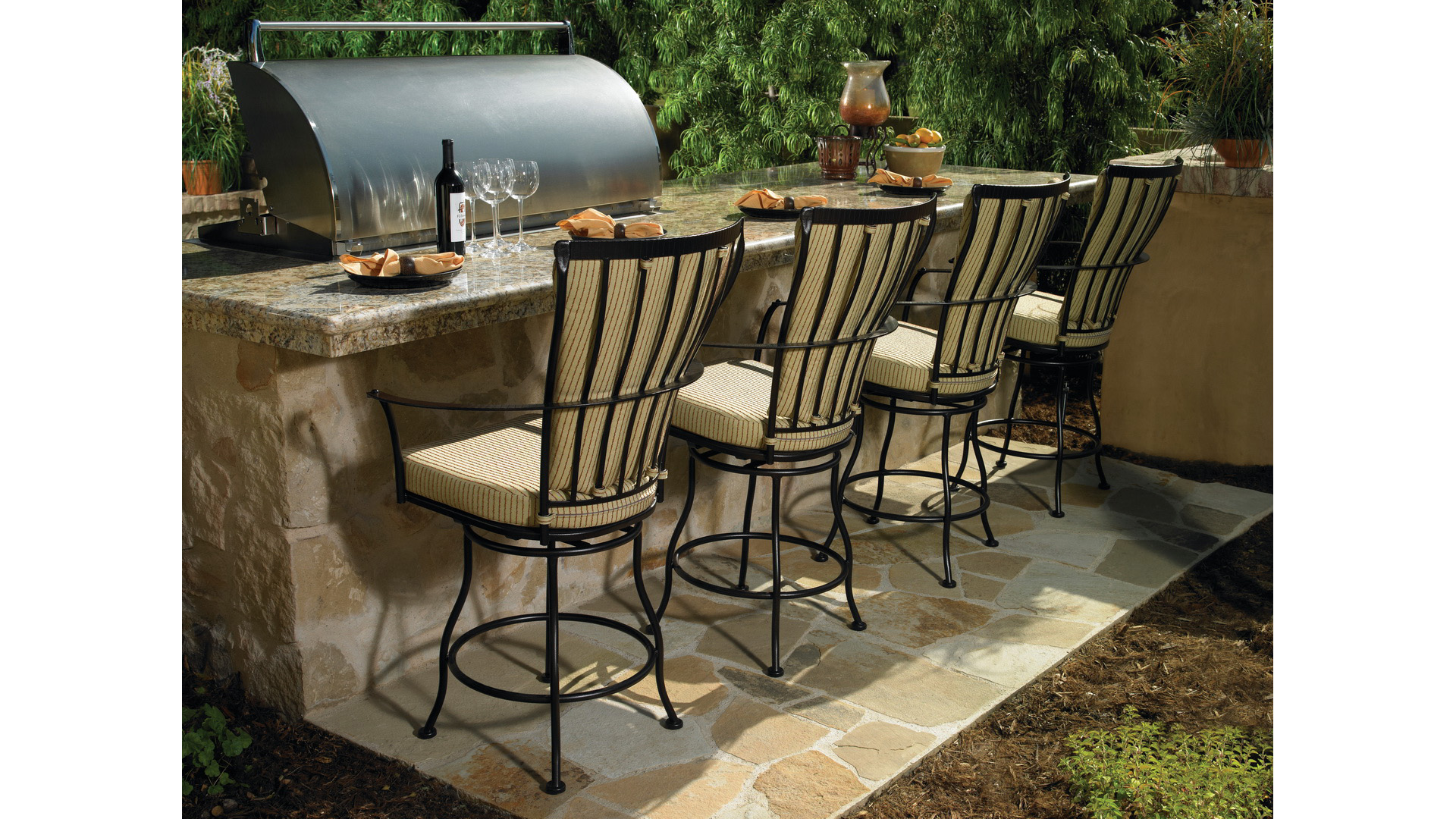 Patio Furniture Pasadena Ca Monterra Fishbecks Patio Furniture Store Pasadena Brown Pasadena