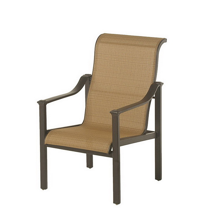 Sling Dining Chair Fishbecks Patio Furniture Store Pasadena