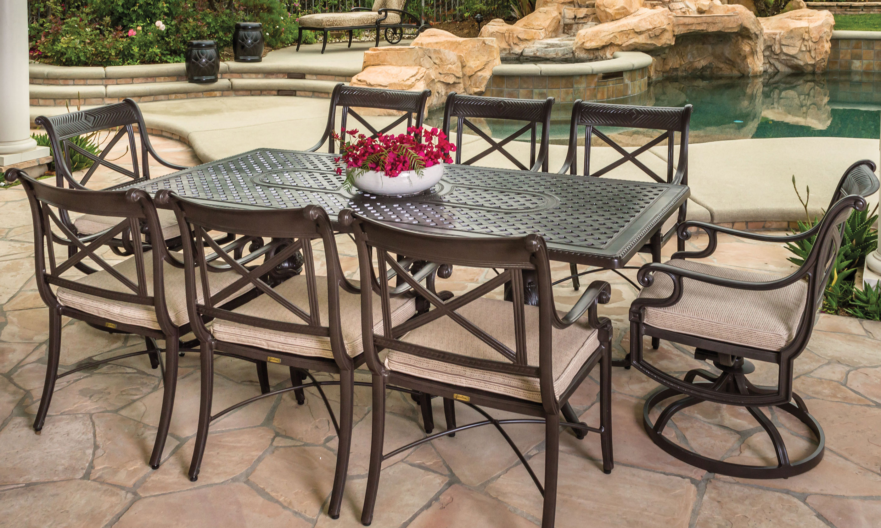... Southern California Patio Furniture Modern Outdoor ...