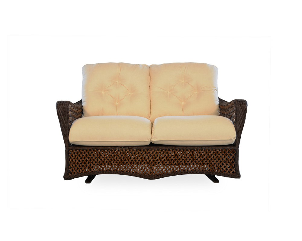 Love-Seat-Glider-71347-Grand-Traverse-Lloyd-Flanders