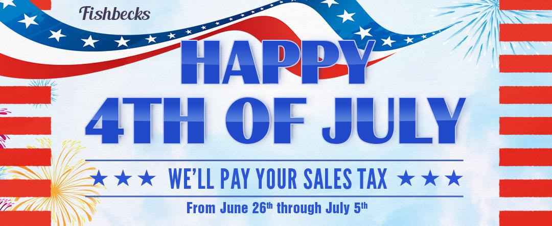 Fishbecks-Web-Banner-210617 - July 4th Sale